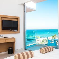 Vrissaki Beach Hotel In Protaras Sea View Bedroom