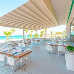 Vrissaki Beach Hotel In Protaras Veranda Italian Restaurant